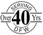 40 years serving