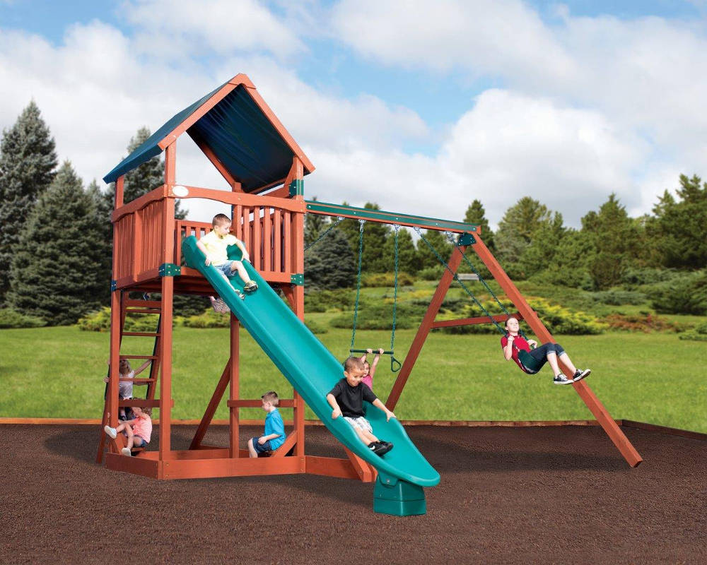Titan Treehouse Jumbo Wooden Swing